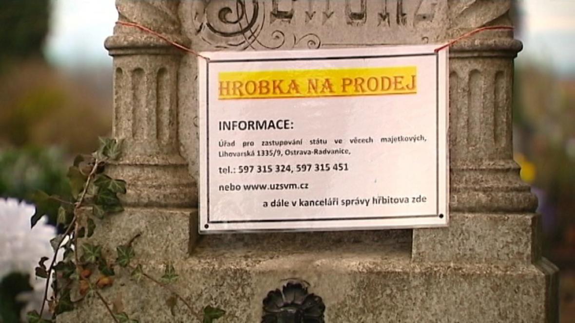 Opavská hrobka na prodej