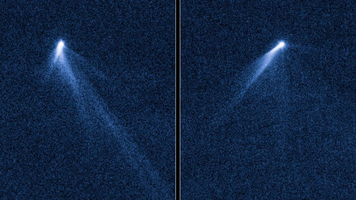 Asteroid se závoji