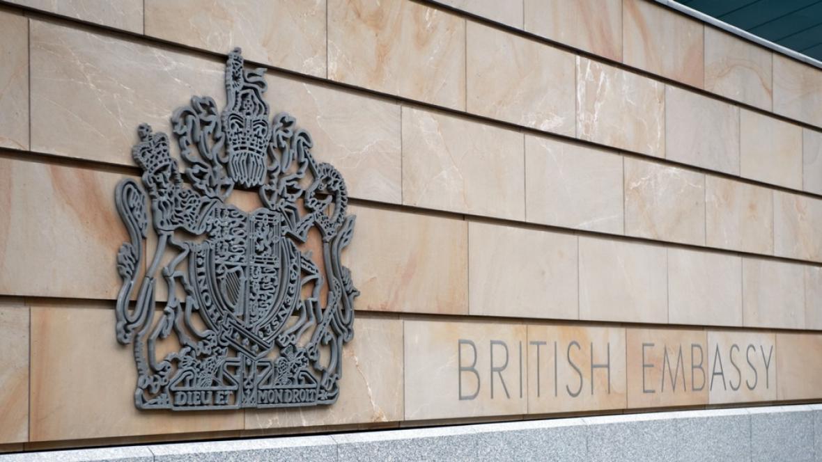 Britská ambasáda v Berlíně