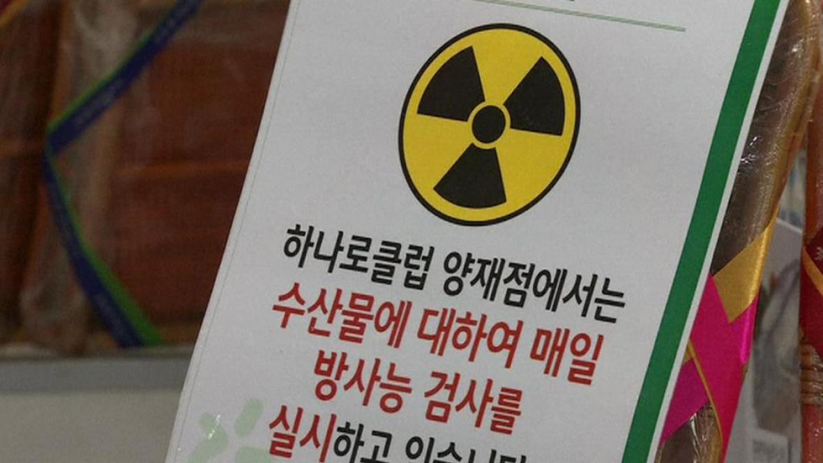 Jihokorejci mají strach z kontaminovaných ryb a mořských plodů