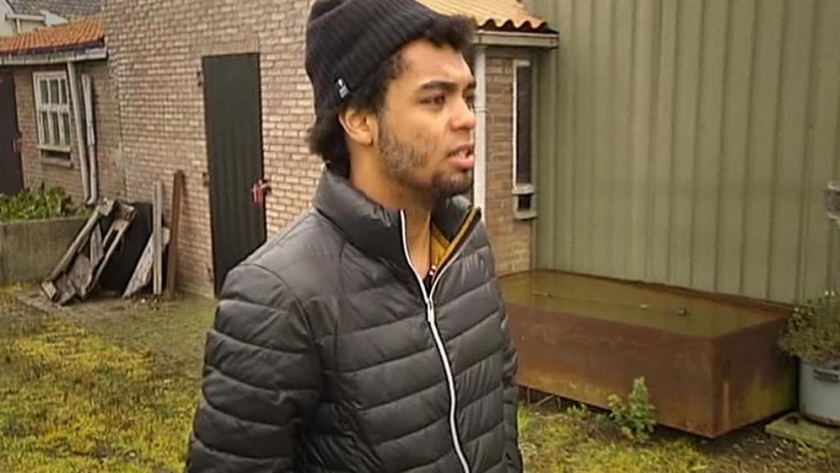 Syrský bojovník zavřený v Belgii