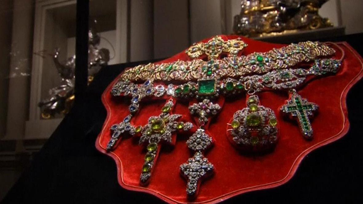 Výstava pokladů svatého Gennara v Římě