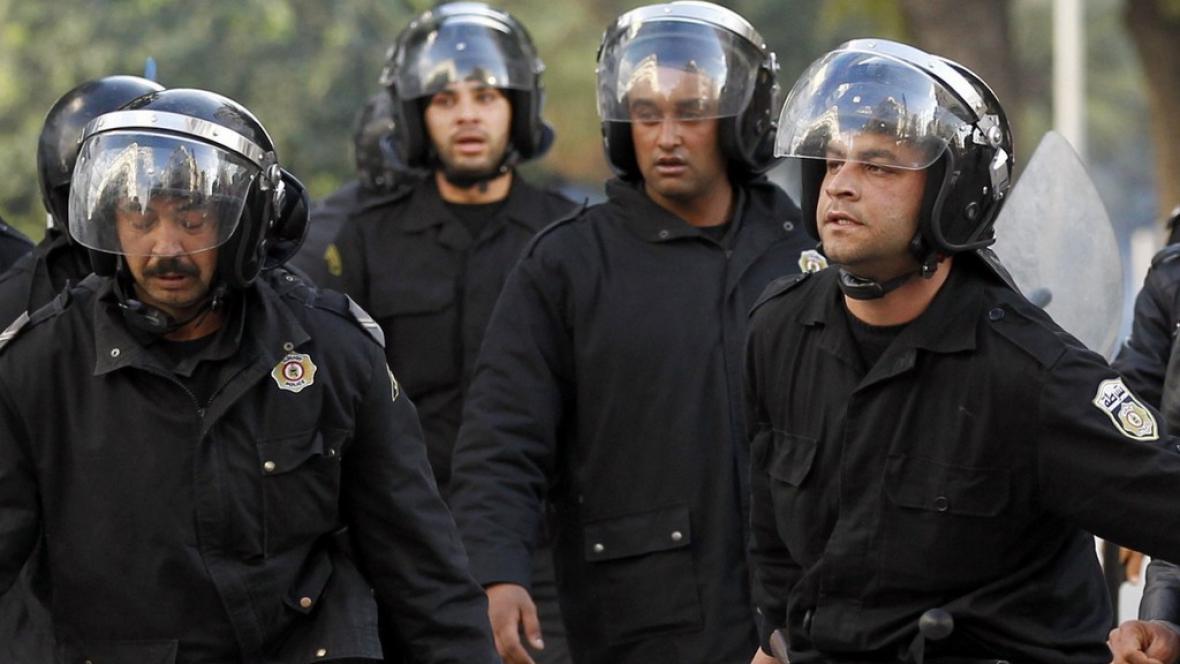 Tuniská policie