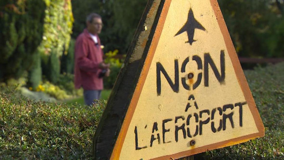 Odpor proti letišti nedaleko Nantes