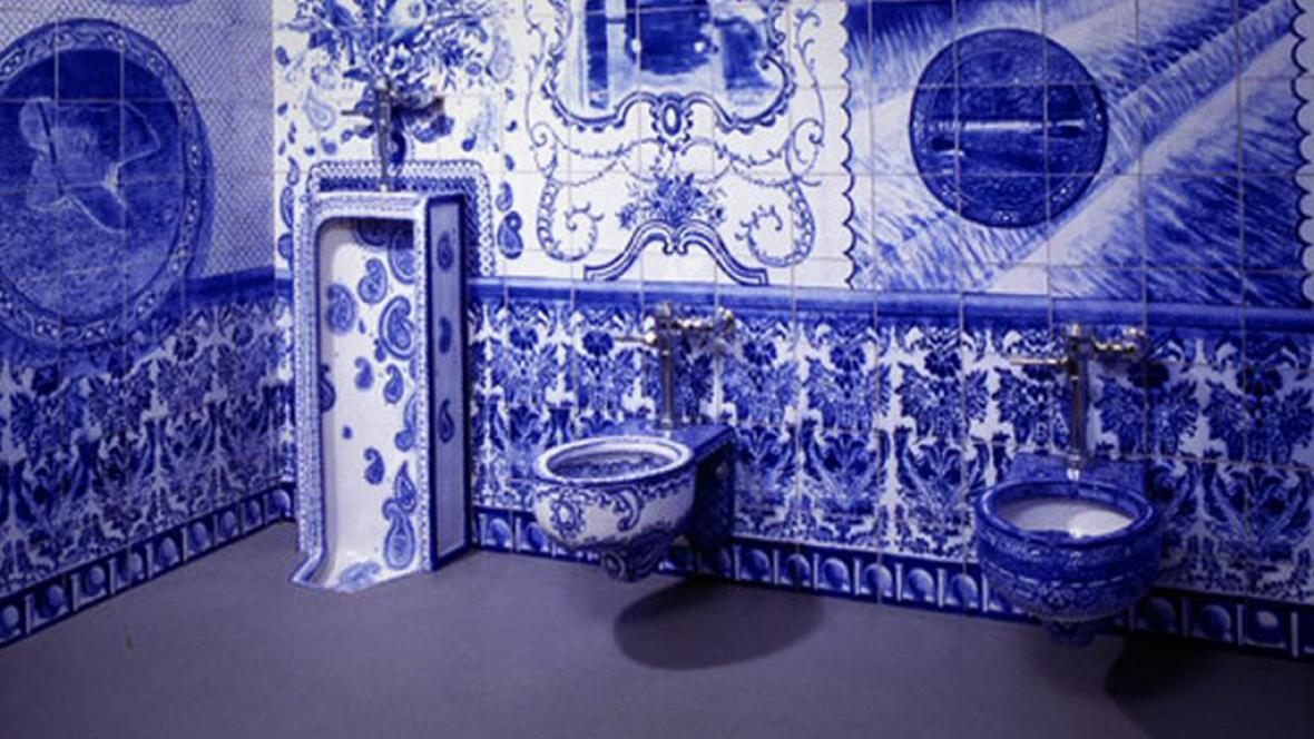 Umělecký záchod