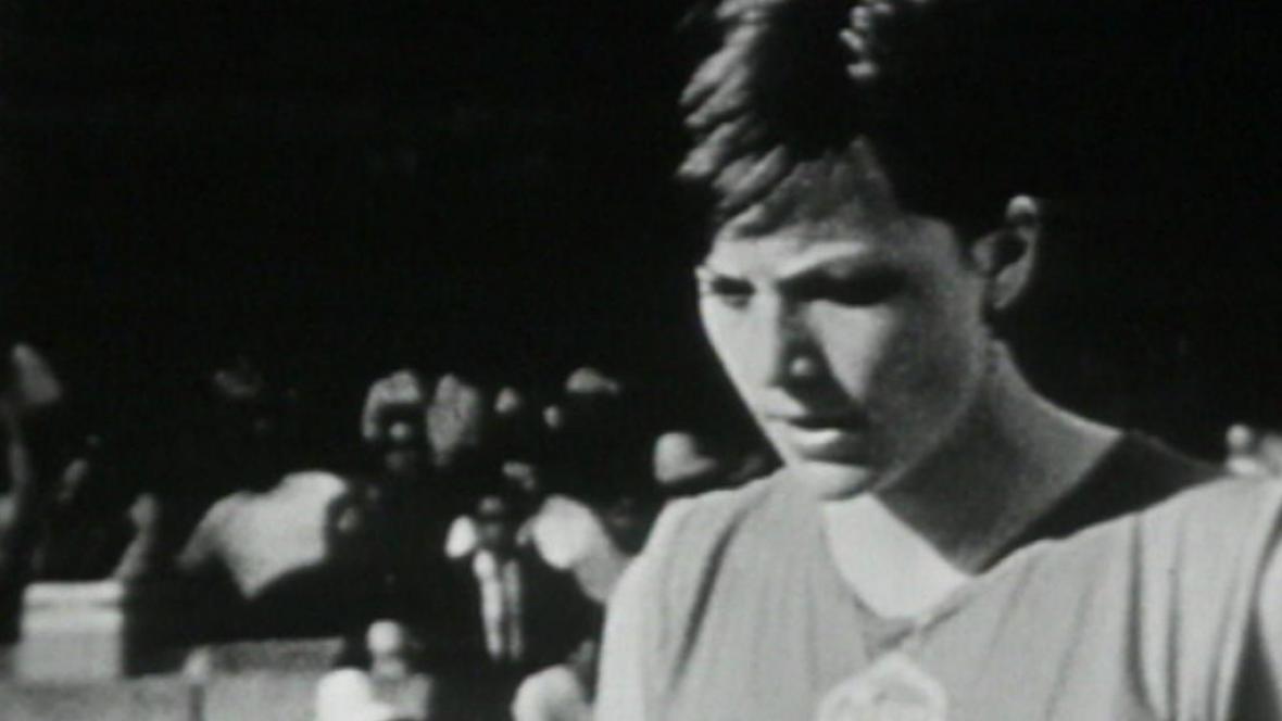 Miloslava Rezková na olympiádě v Mexiku