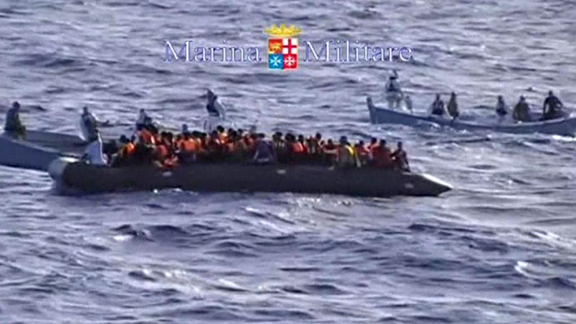 Afričtí uprchlíci