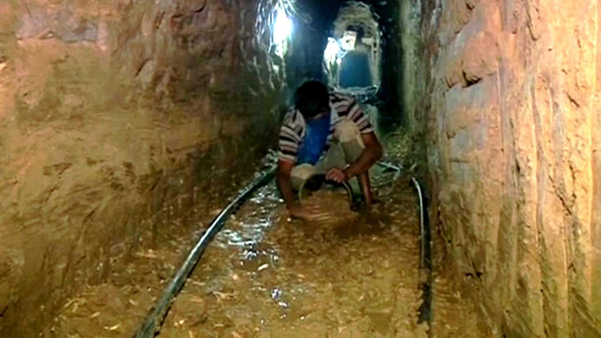 Tunel mezi Gazou a Izraelem