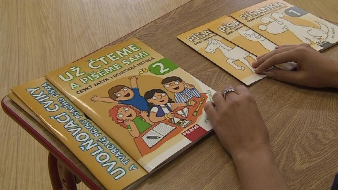 Nová učebnice z řeznovické základní školy
