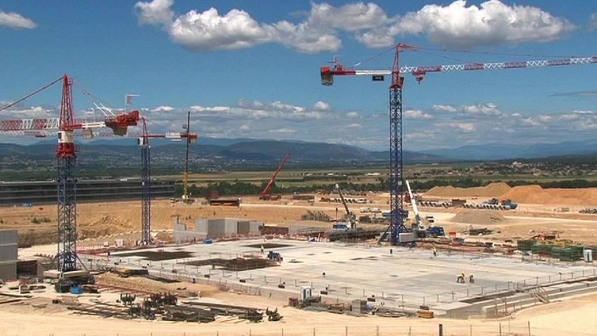 Stavba fúzní elektrárny ve Francii