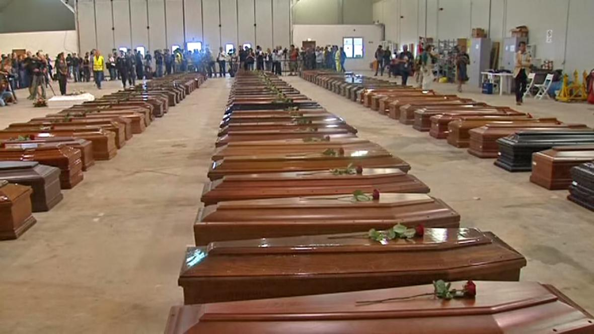 Oběti z Lampedusy