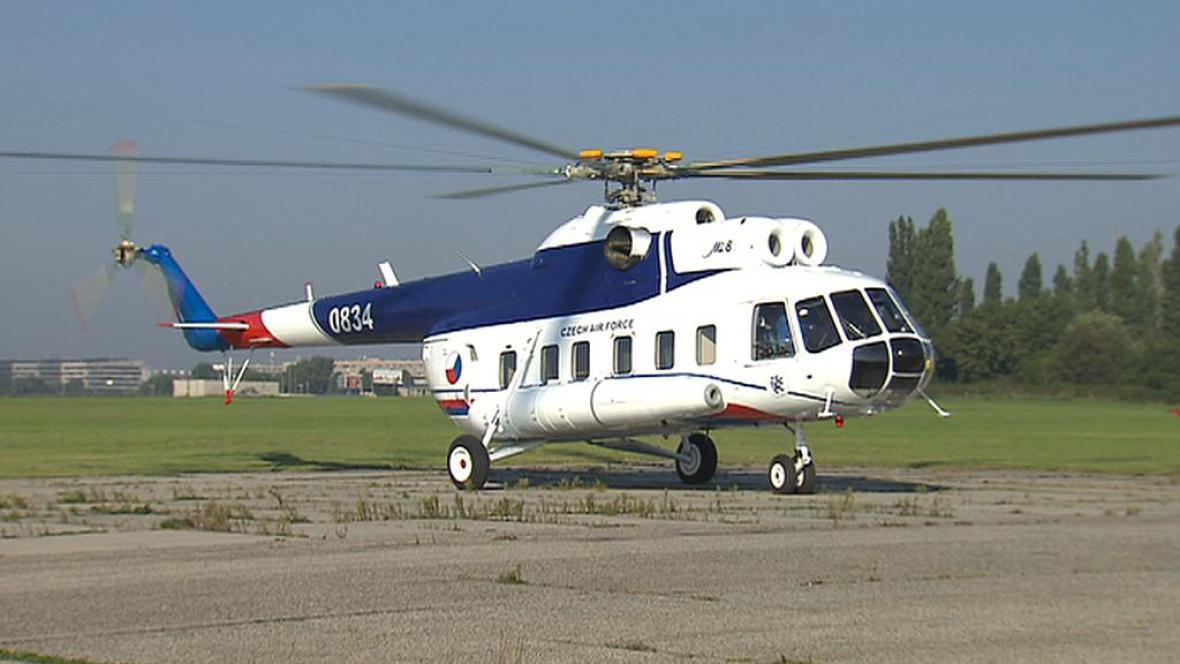 Modernizovaný vrtulník Mi-8