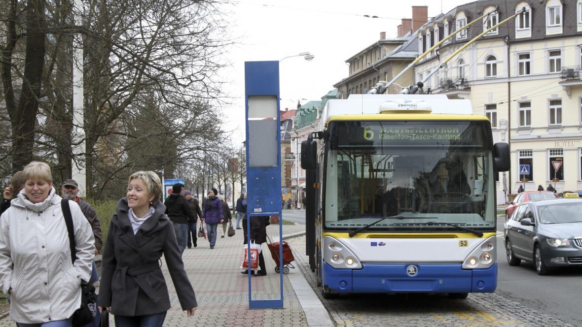 Mariánskolázeňský trolejbus