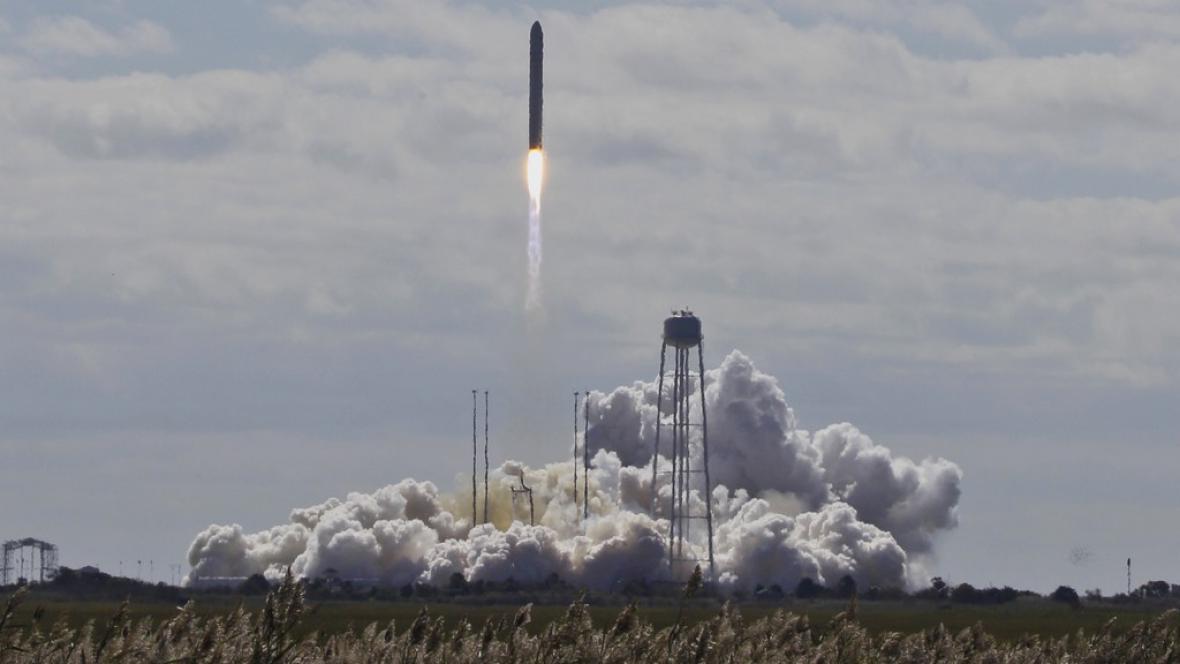 Cygnus míří do vesmíru