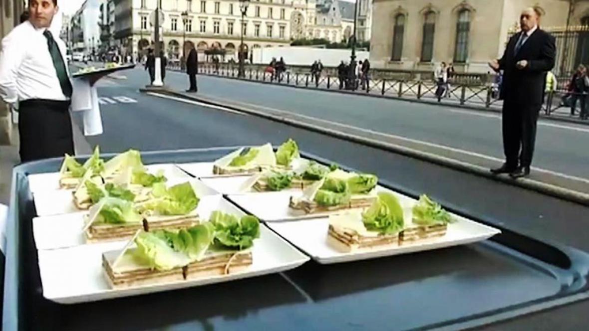 Svátek jídla v Paříži