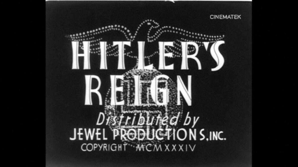 Hitlerova vláda teroru
