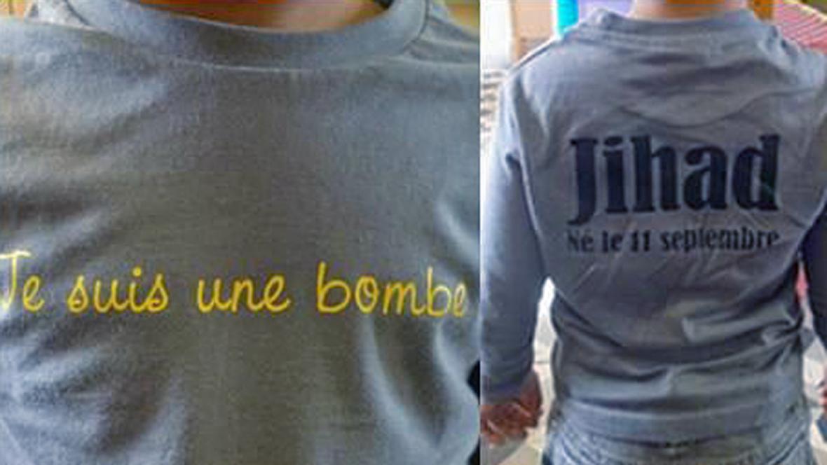 Nápis na Džihádově tričku se soudu nelíbil