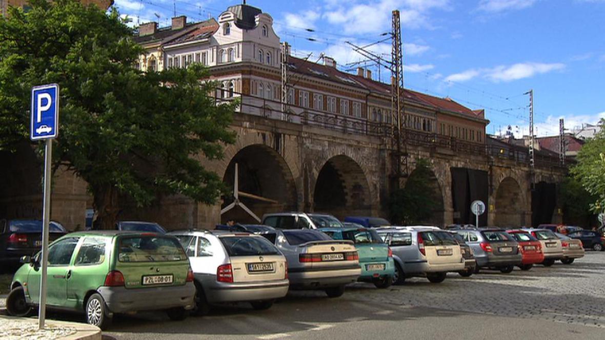 Viadukt v Karlíně