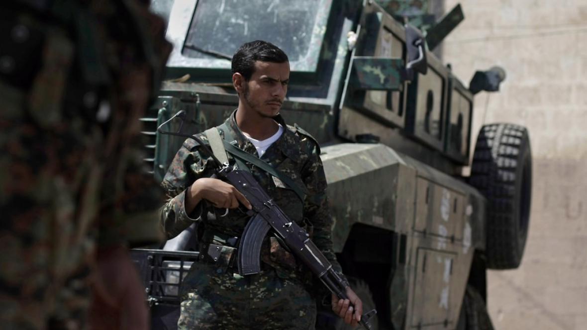 Jemenské ozbrojené složky