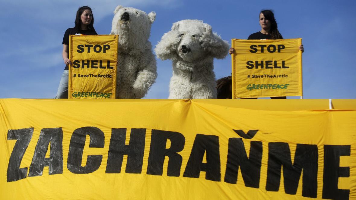 Protest hnutí Greenpeace