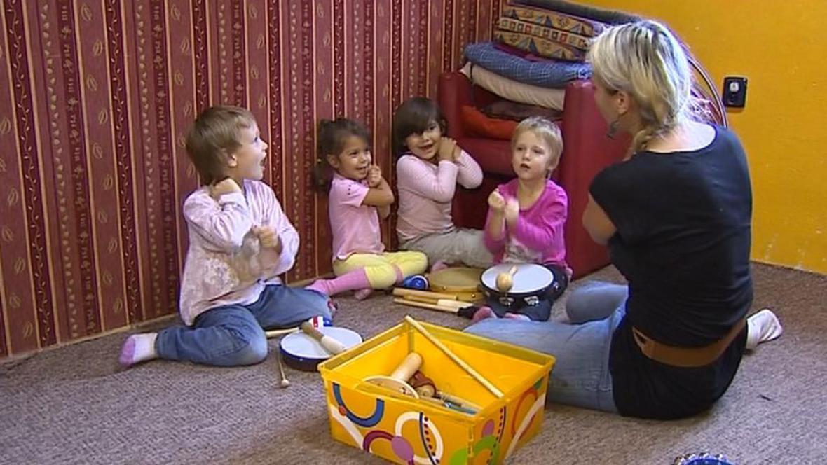 Děti v centru Cheiron