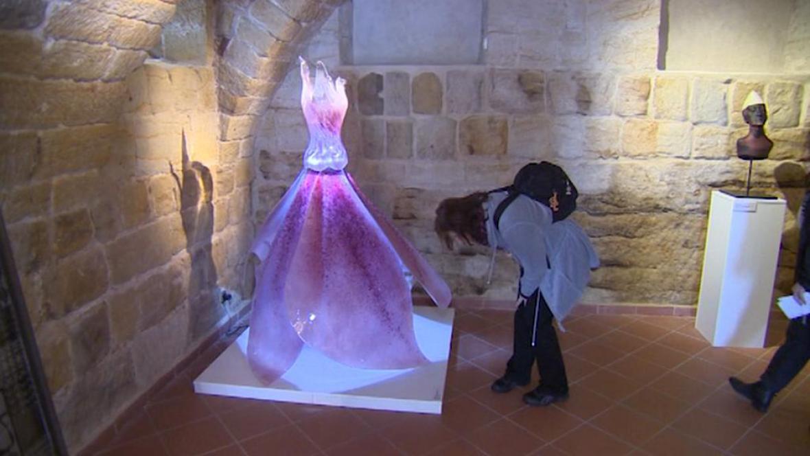 Z nové expozice ve Sklářském muzeu Nový Bor