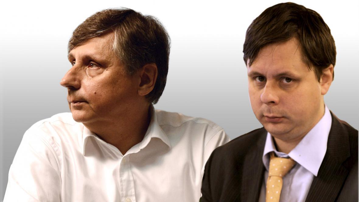 Jan Fischer a Jakub Fischer