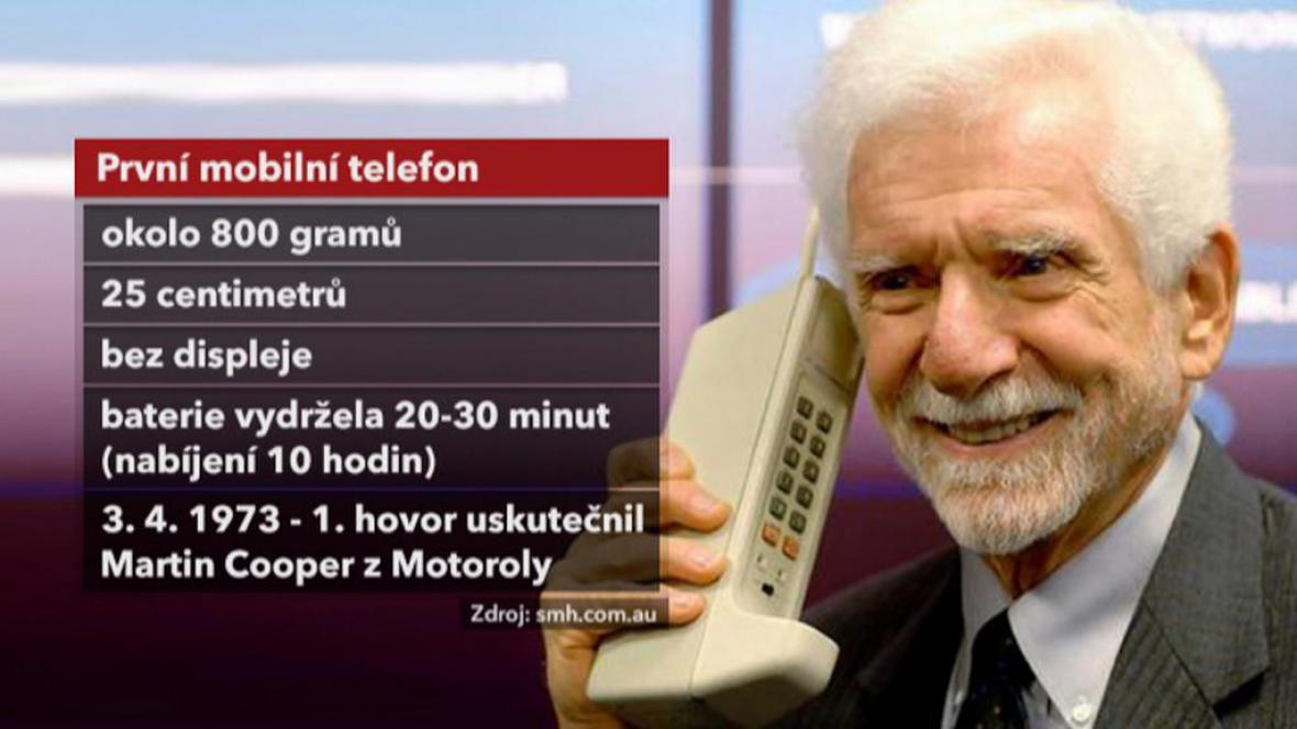 Martin Cooper a první mobilní telefon