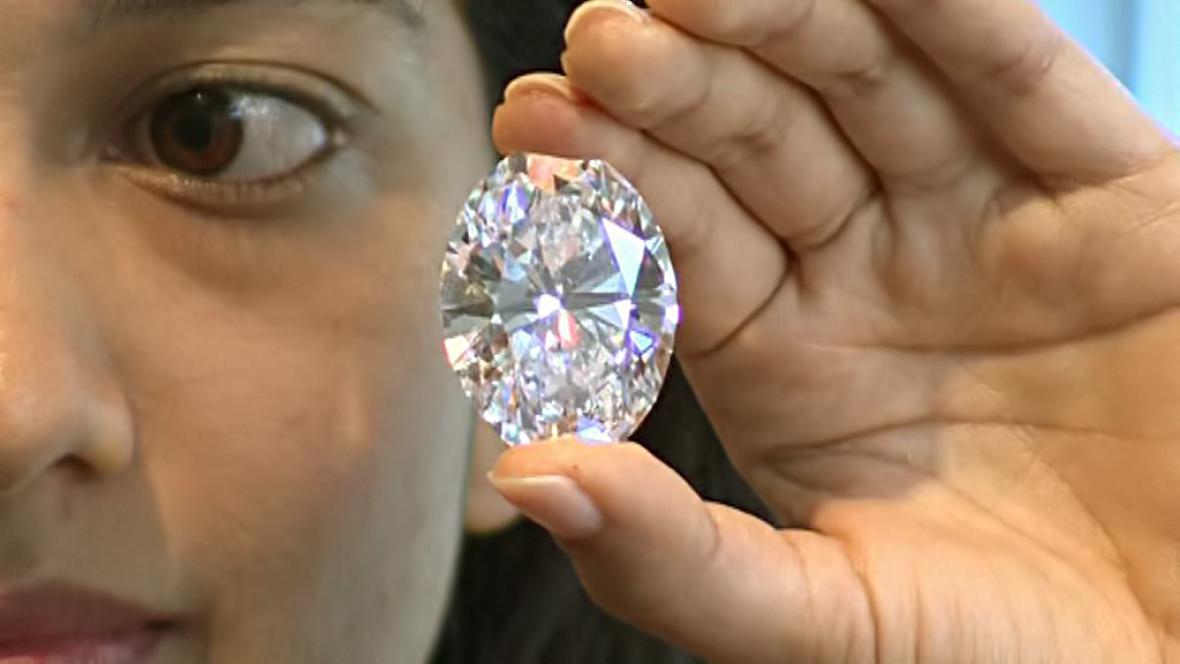 Sotheby's draží vzácné diamanty
