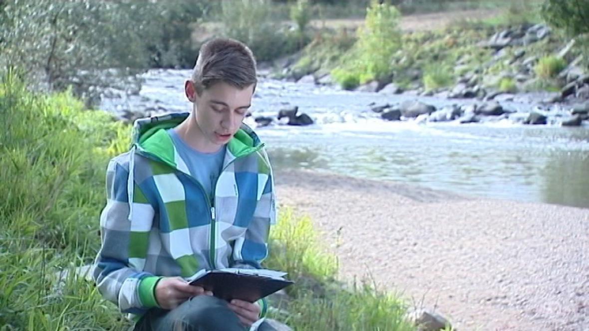 Daniel Korčák, vítěz ve světové soutěži v psaní dopisů