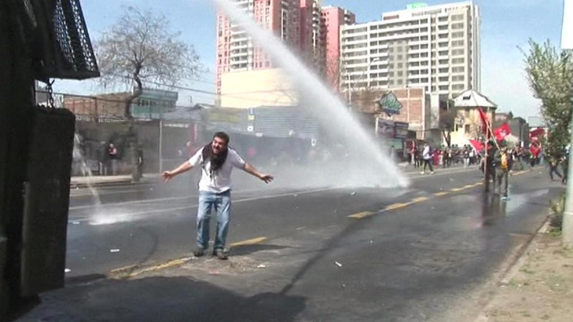 Protesty v Chile