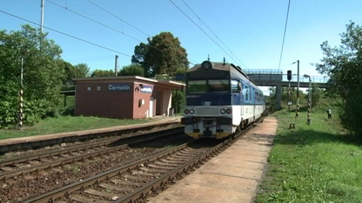 Železniční zastávka Černotín