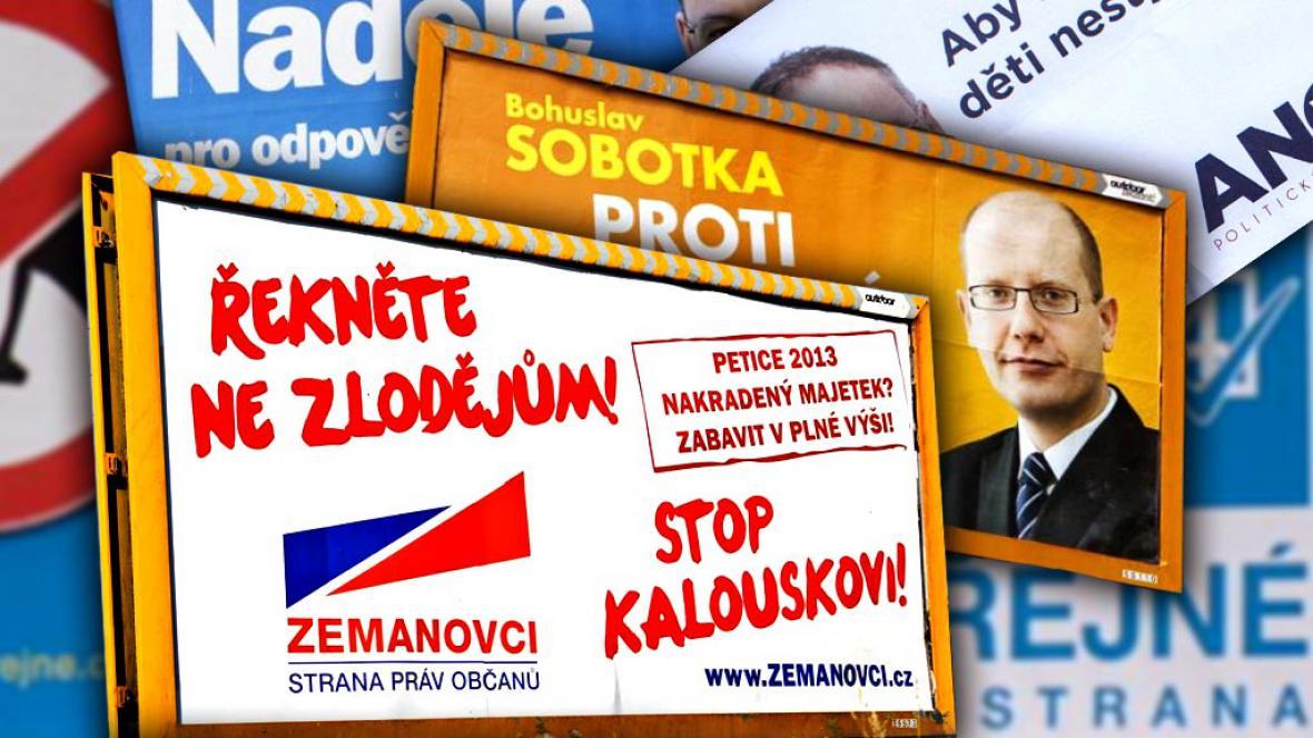 Předvolební billboardy