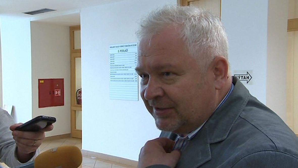 Roman Vaškůj u soudu 20. května 2013