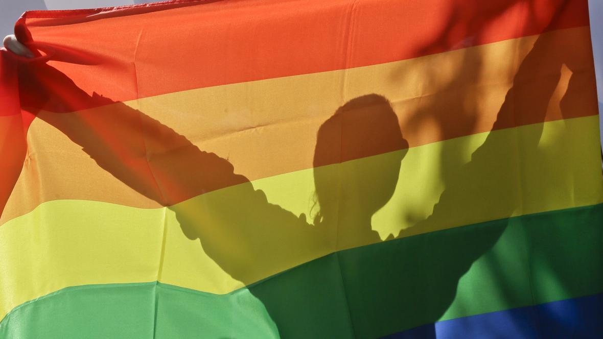 Demonstrace za práva homosexuálů na Ukrajině