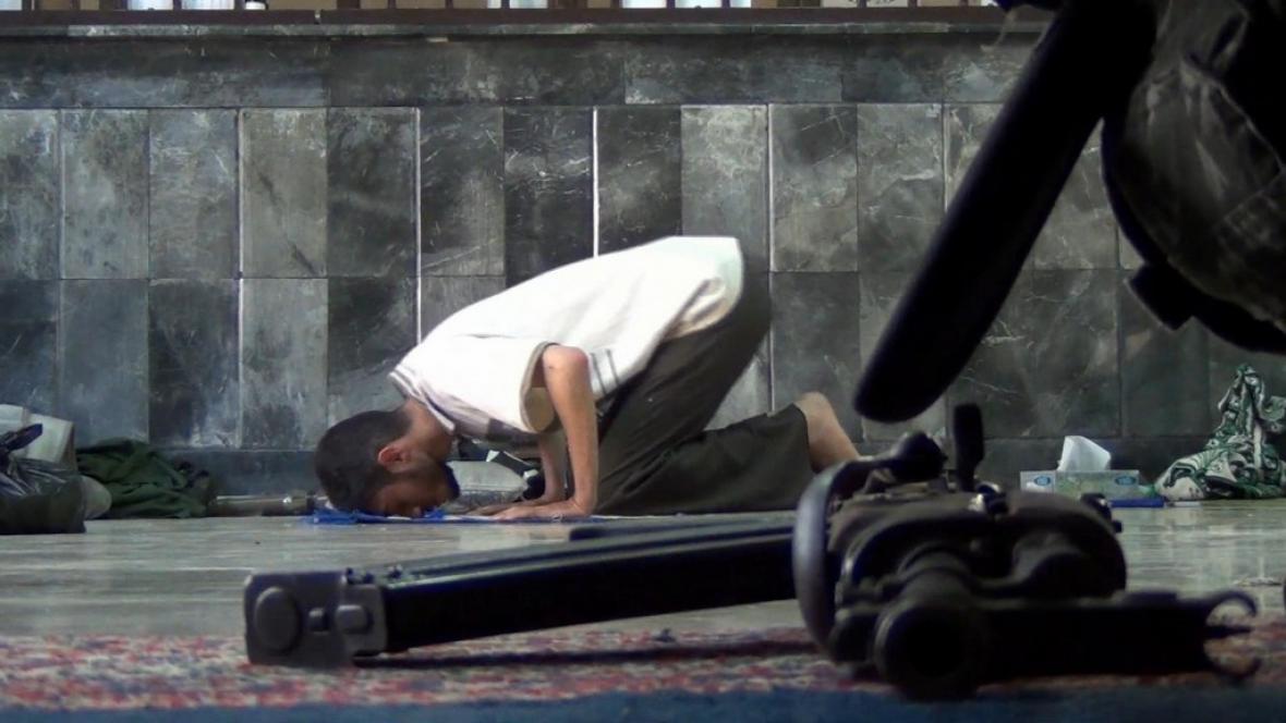 Modlící se Syřan