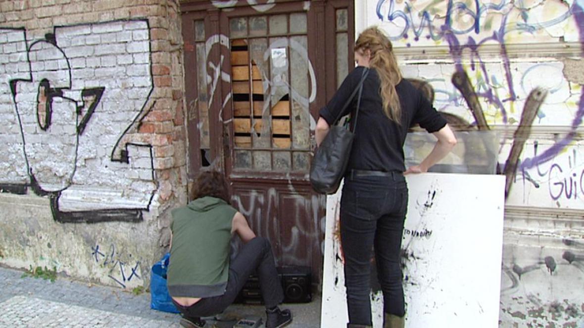 Pražští squatteři