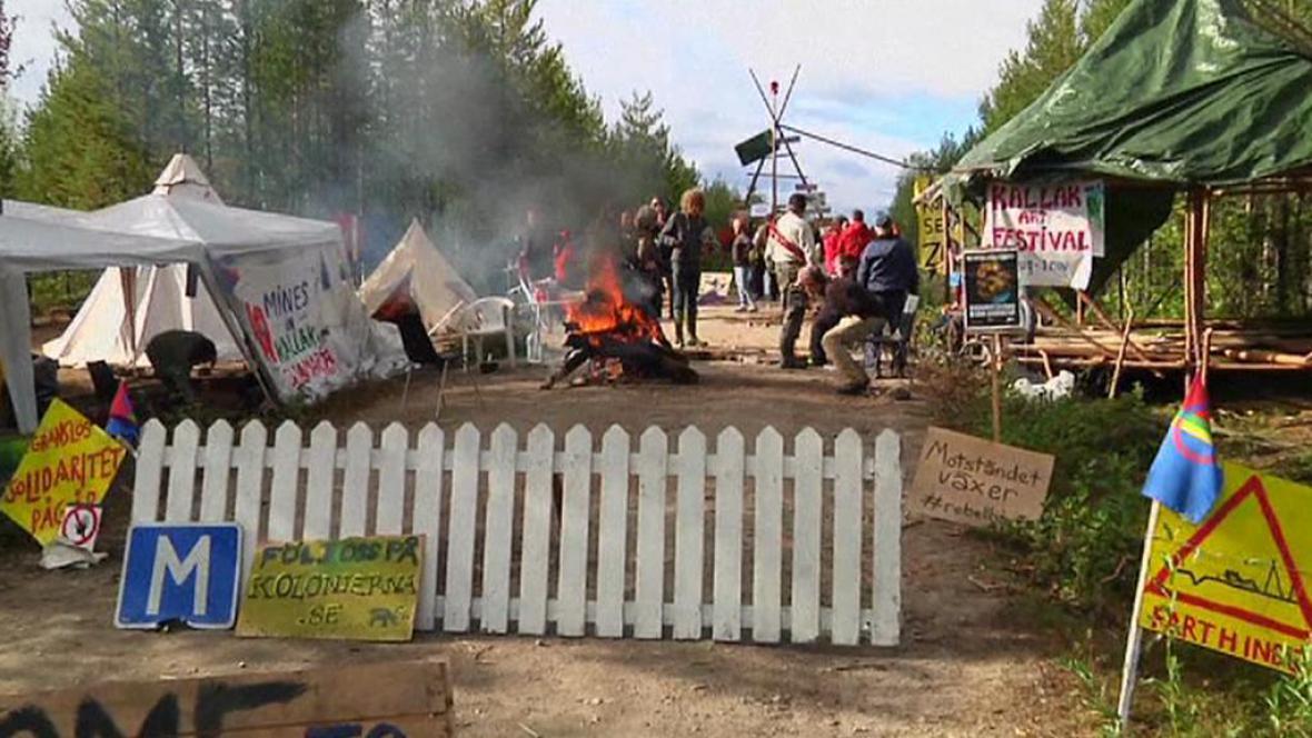 Protest Sámů
