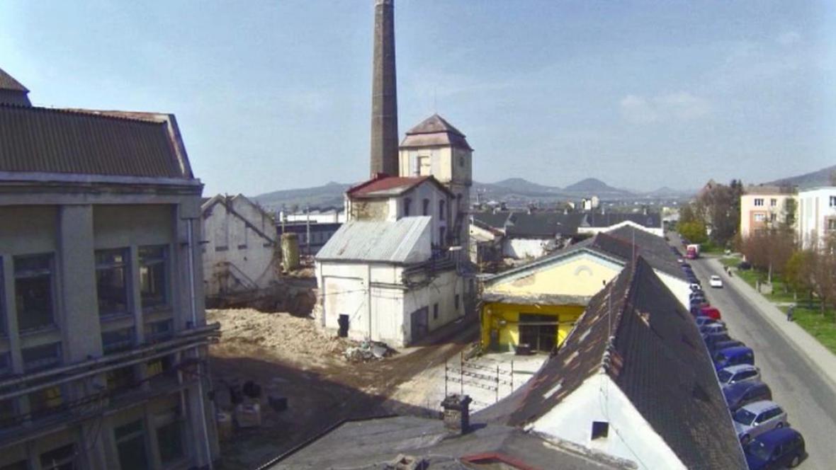 Průmyslový areál v Lovosicích