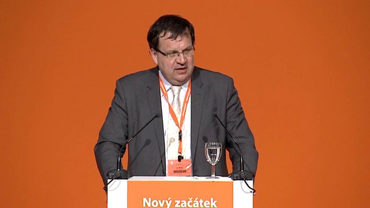 Jan Mládek, stínový ministr financí (ČSSD)