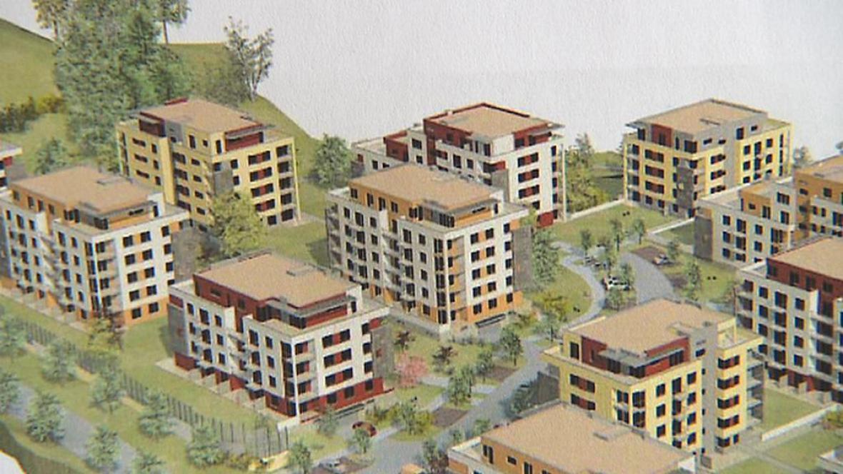 Projekt společnosti Central Group v Komořanech