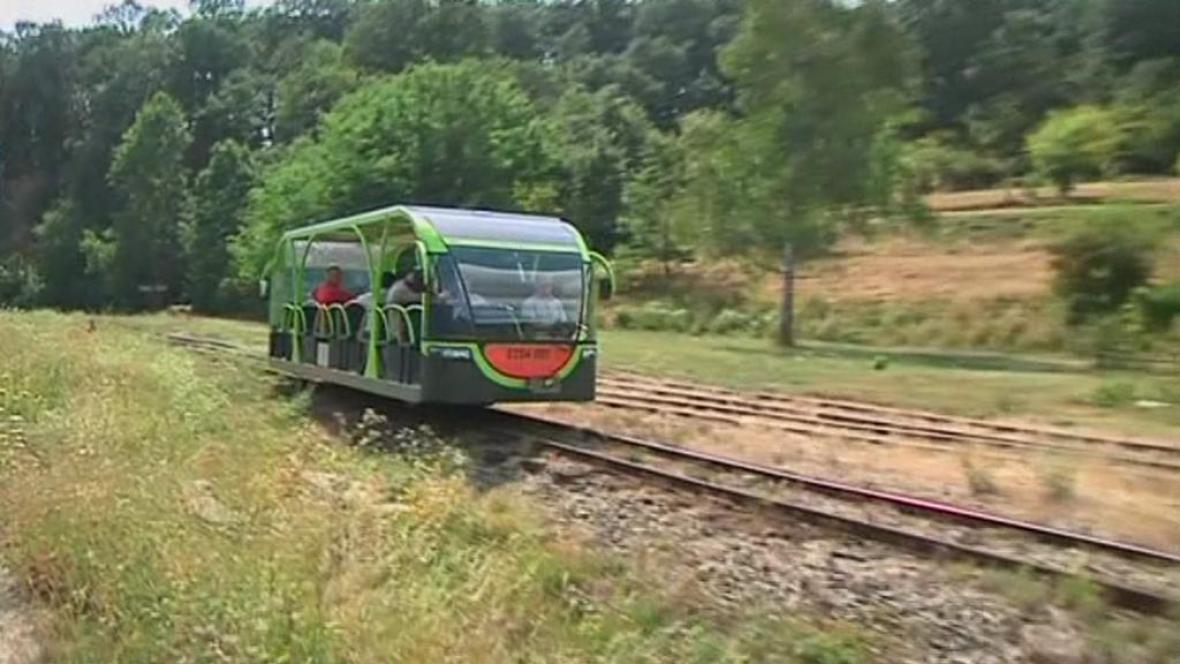 Maďarský vlak na solární pohon