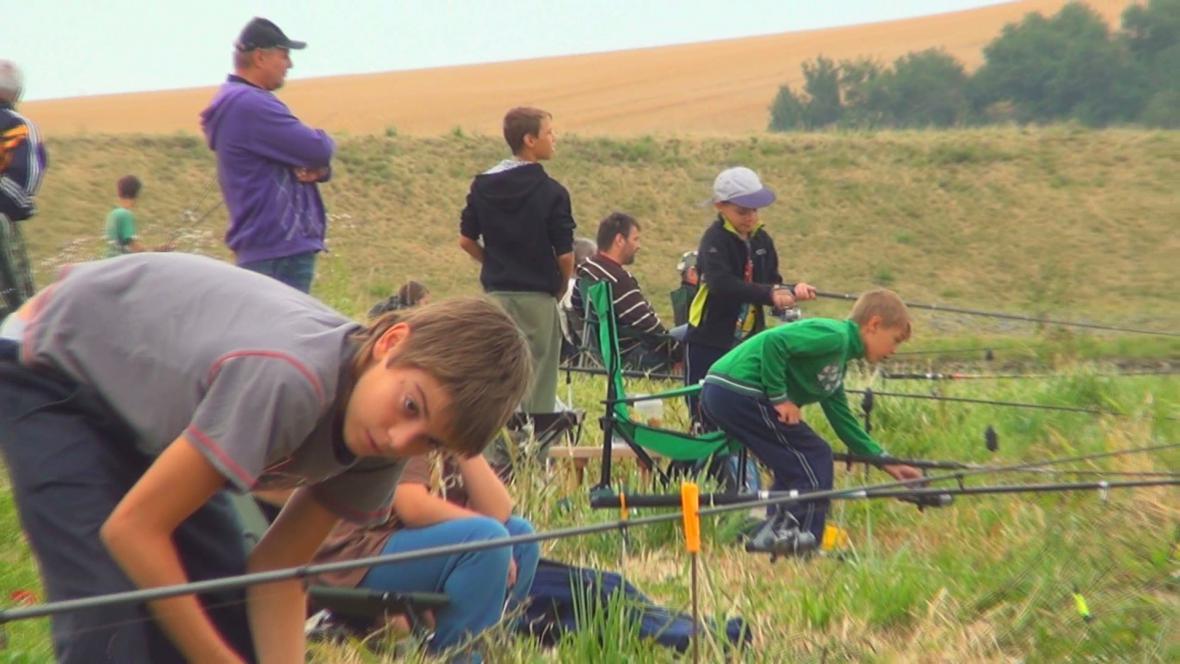 Rybářské závody pro mládež