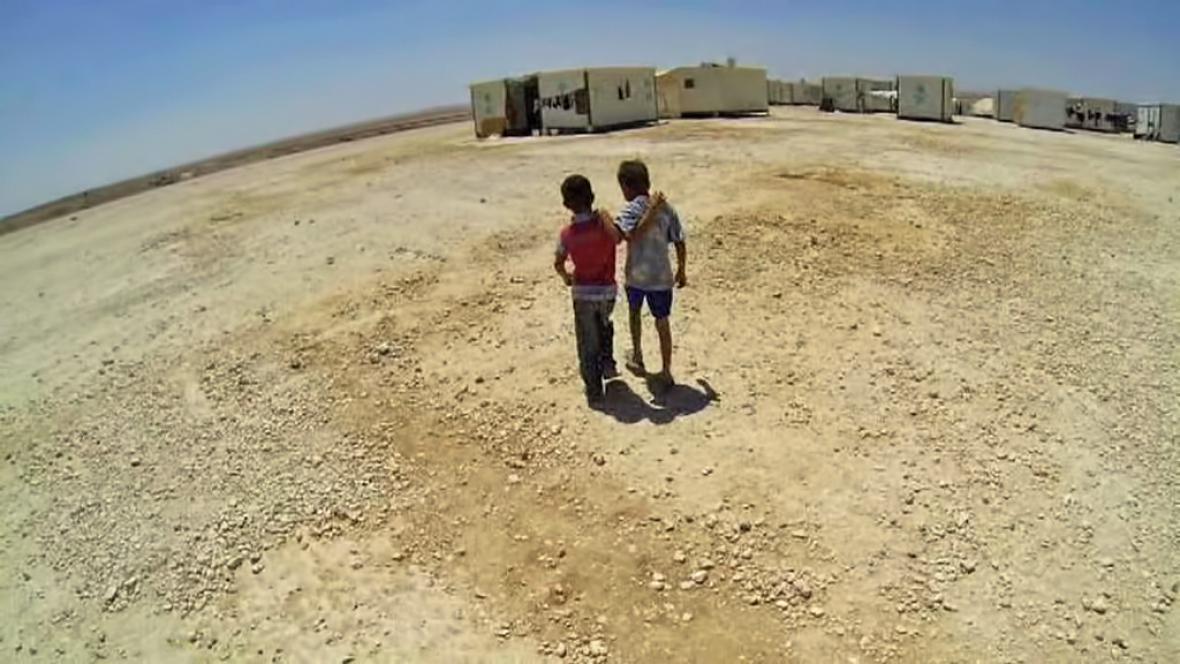 Dětští uprchlíci ze Sýrie