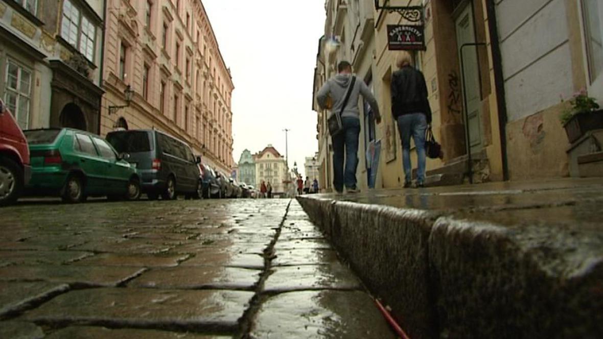 Ulice v centru Plzně