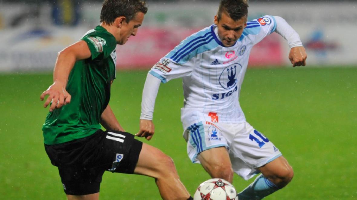 Utkání  SK Sigma Olomouc - FK Baumit Jablonec