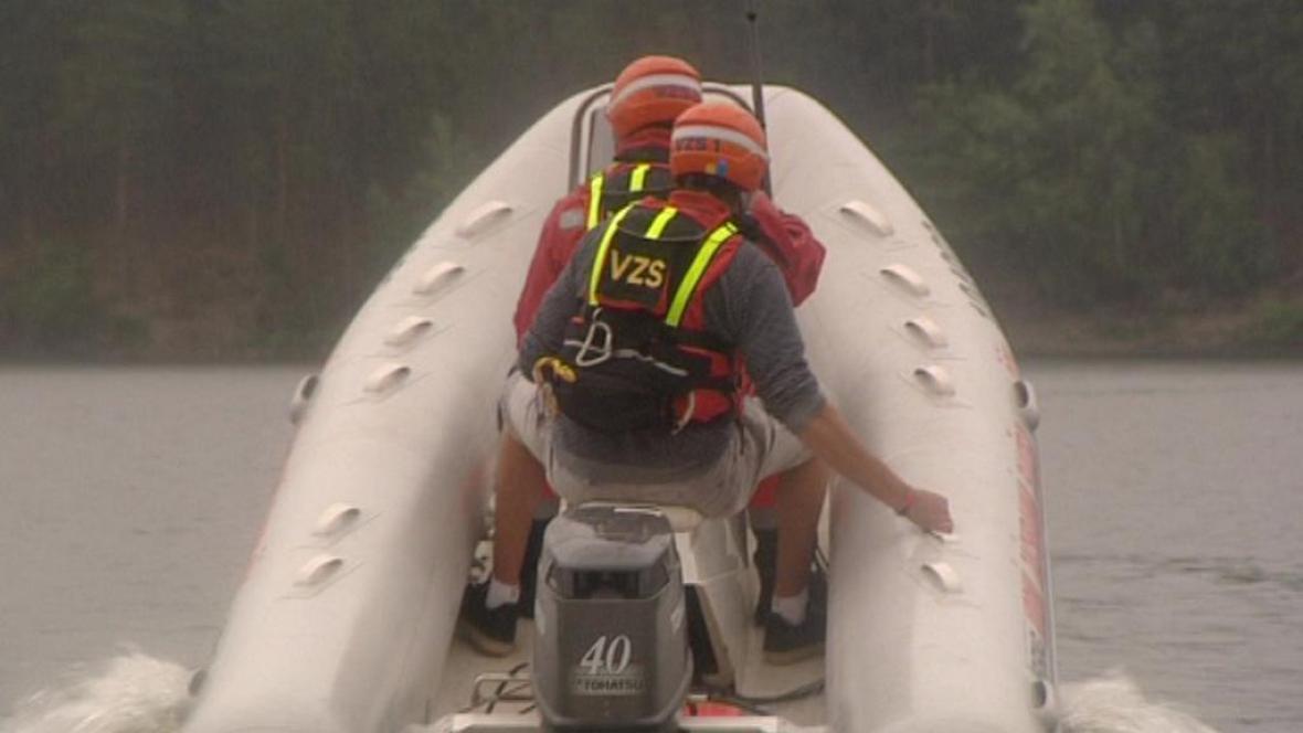 Vodní záchranáři v akci