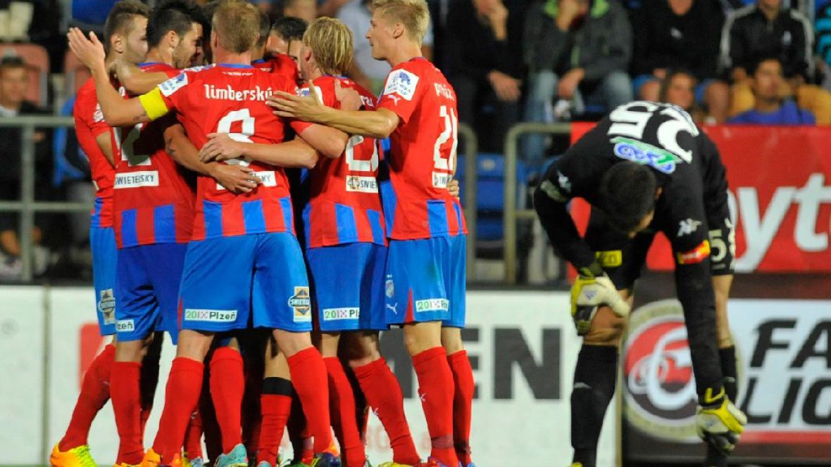 Utkání 1. FC Slovácko - FC Viktoria Plzeň