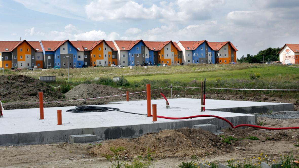 Satelitní výstavba řadových rodinných domů