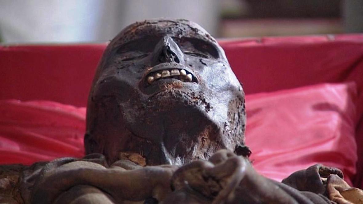 Mumie v Klatovech